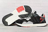 Кроссовки мужские 17302, Adidas 3M, черные, < 41 42 43 44 45 46 > р. 41-25,2см.