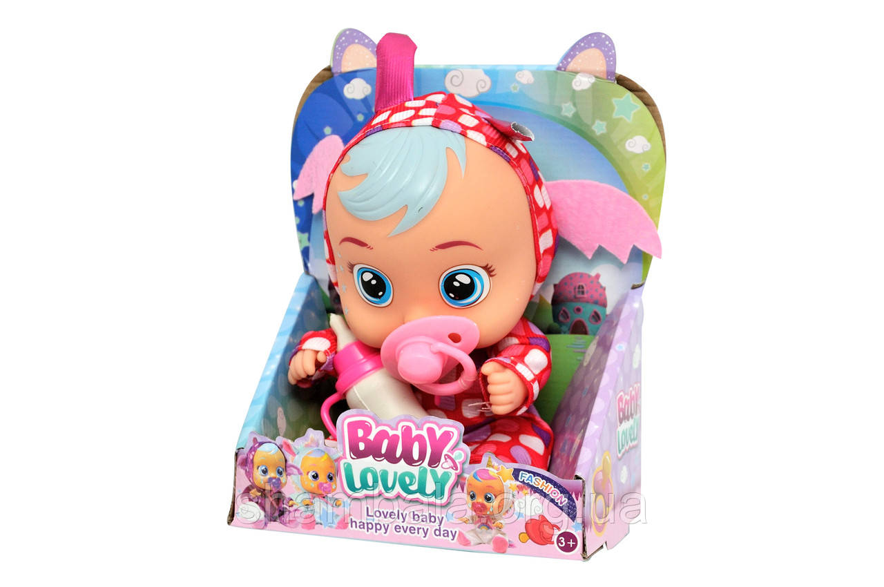 "Пупс CH Toys ""Lovely baby happy"" с соской (068411)"