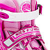 Роликовые коньки Nils Extreme NJ1828A Size 39-42 Pink, фото 3