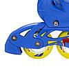 Роликовые коньки Nils Extreme NJ1905A Size 31-34 Yellow, фото 5