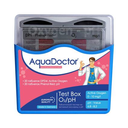 AquaDoctor Тестер AquaDoctor Test Box O2/pH