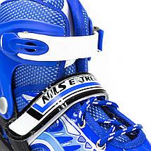 Роликовые коньки Nils Extreme NJ1828A Size 35-38 Blue, фото 2