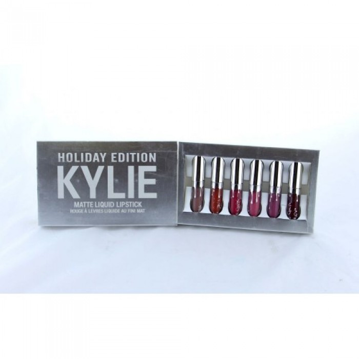 Набор жидких матовых помад Kylie Holiday Edition 6 штНет в наличии