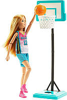 Кукла Barbie Dreamhouse Adventures Стейси Баскетболистка Спортивные сестры на шарнирах SKL52-241156