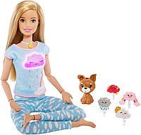 Кукла Barbie Дыши со мной Медитация Йога со световыми и звуковыми эффектами SKL52-241157