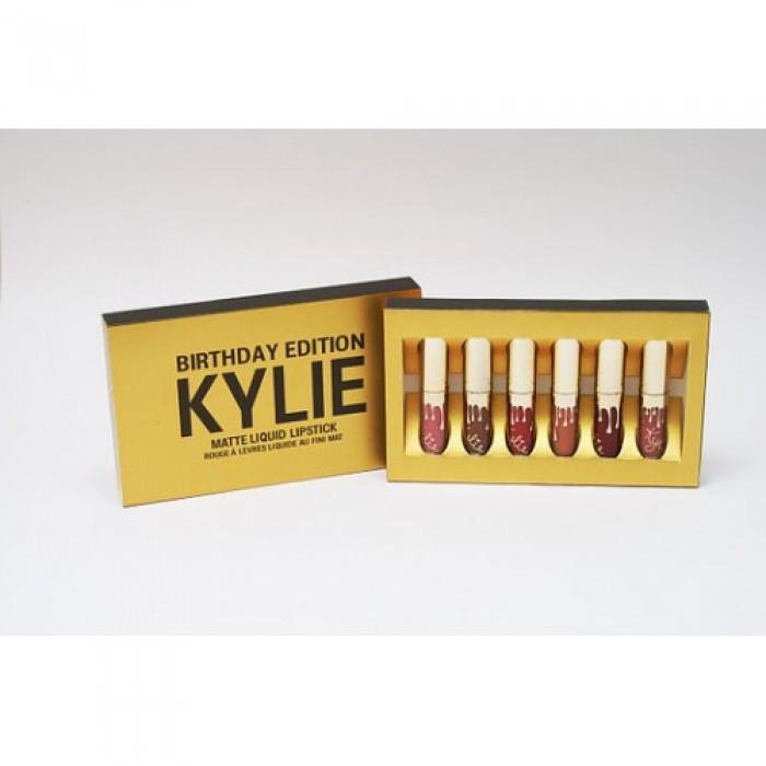 Набор жидких матовых помад Kylie Birthday EditionНет в наличии