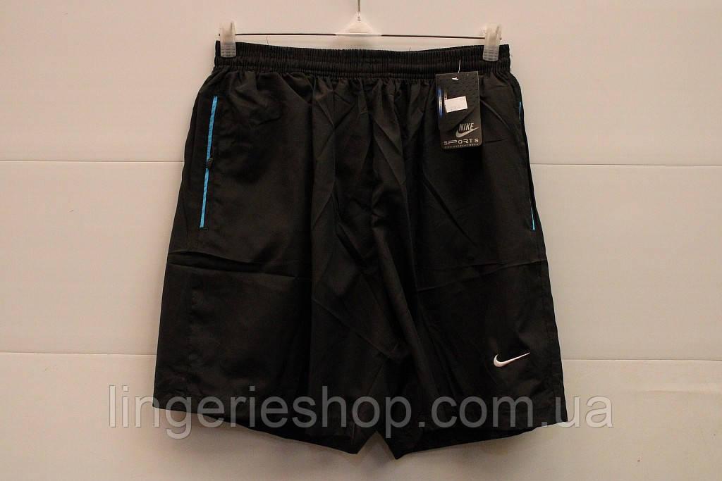 Шорты Спорт мужские Nike черный батал