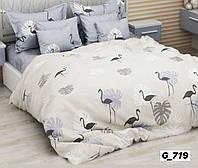 Комплект постільної білизни полуторний (бязь) (Комплект постельного белья полуторний (бязь))