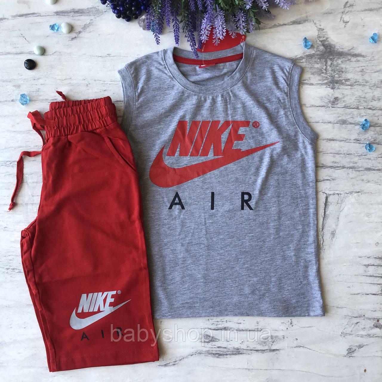 Літній костюм в стилі Nike на хлопчика 96. Розмір 128 см, 134 см, 140 см, 152 см, 164 см