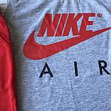 Літній костюм в стилі Nike на хлопчика 96. Розмір 128 см, 134 см, 140 см, 152 см, 164 см, фото 2