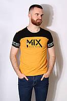 Футболка мужская желтая размер S AAA 186