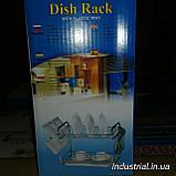 Сушилка для посуды А-плюс 1199 2 яруса, фото 4