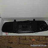 Видеорегистратор зеркало заднего вида DVR L 9000 c 2-мя камерами, фото 5