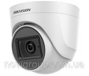 5мп Turbo HD відеокамера Hikvision з вбудованим мікрофоном DS-2CE76H0T-ITPFS (3.6 ММ)