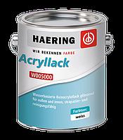 Фарба фасадна глянсова акрилатна Haering Acryllack W5000 - 10 л