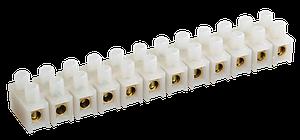 Зажим контактный винтовой ЗВИ-10 2,5-6мм2 (2шт/блистер), ИЕК [UZV3-010-06-2]