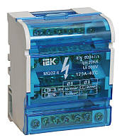 Шины на DIN-рейку в корпусе (кросс-модуль) ШНК 4х7 3L+PEN, ИЕК [YND10-4-07-100]