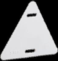 Бирка кабельная У-136 (треугольник 55х55х55мм), ИЕК [UZMA-BIK-Y136-T]