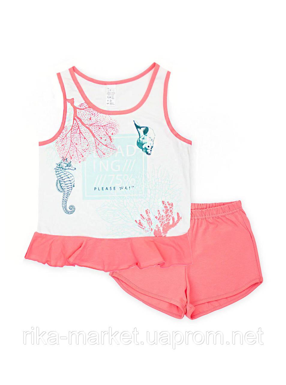 Пижама для девочки, Смил  от 7 до 14 лет 104655/104479,