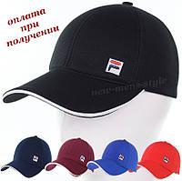 Детская подростковая модная и молодежная спортивная кепка бейсболка блайзер Fila new