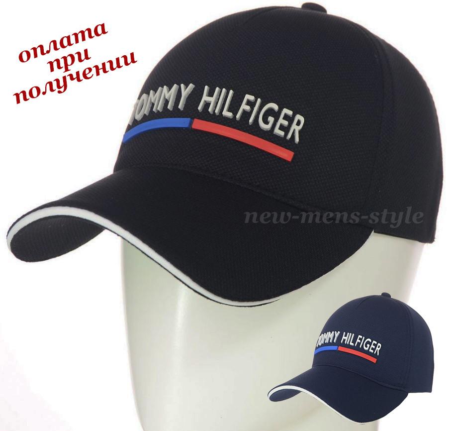 Детская подростковая стильная и молодежная спортивная кепка бейсболка блайзер Tommy Hilfiger