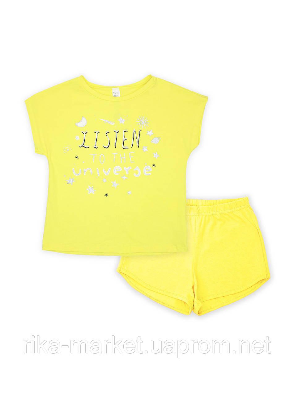 Пижама для девочки, Смил, от 7 до 14 лет, 104478