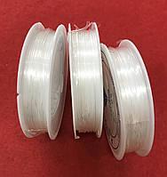 Силиконовая нить ,Эластичная резинка ,Жилка прозрачная 0,8мм