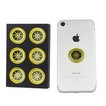 Антирадиационные наклейки на телефон планшет QUANTUM SHIELD