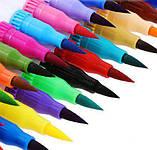 Акварельні маркер пензлика 100 кольорів для малювання FineLiner / Brush Markers Pens, Кисть лайнер для акварелі, фото 7