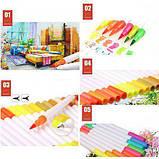 Акварельні маркер пензлика 100 кольорів для малювання FineLiner / Brush Markers Pens, Кисть лайнер для акварелі, фото 6