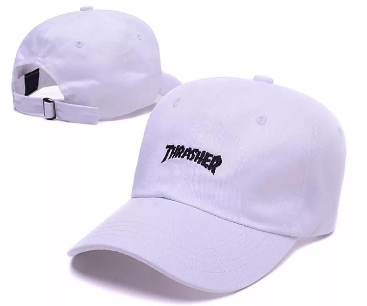 Кепка бейсболка THRASHER белая
