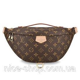 Напоясная сумка-бананка Louis Vuitton шкіра
