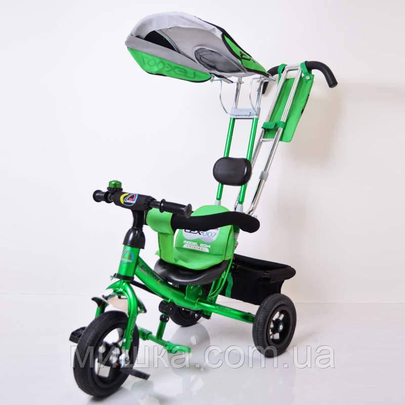 Sigma Lex-007 велосипед детский трехколесный (10/8 AIR wheel) Green