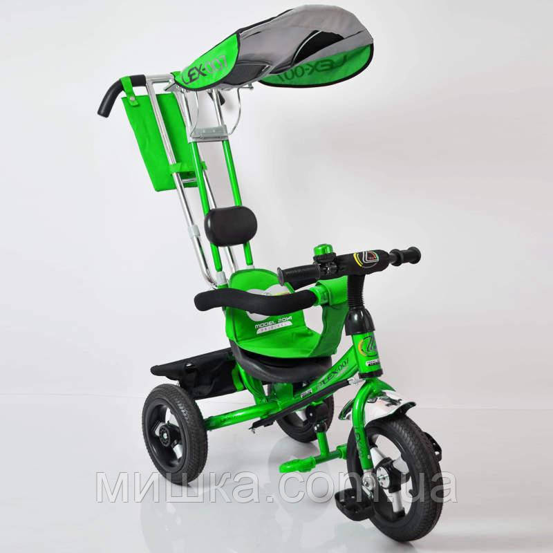 Sigma Lex-007 велосипед детский трехколесный (12/10 AIR wheels) Green