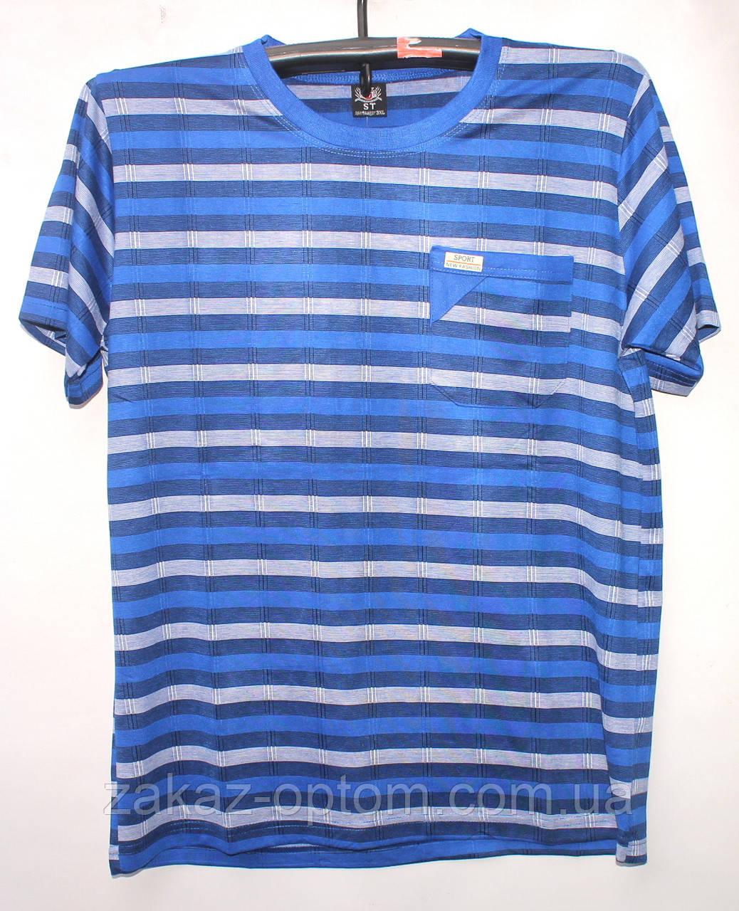 Футболка мужская норма 100%Cotton (48-54) А1 -52592