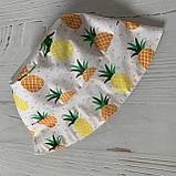 Хлопковая панамка от солнца размер 48-50 см, фото 3