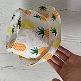 Хлопковая панамка от солнца размер 48-50 см, фото 2