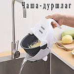 Многофункциональная овощерезка слайсер Adna Slicer резка для овощей и фруктов кухонный комбайн, фото 4