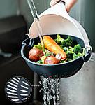 Многофункциональная овощерезка слайсер Adna Slicer резка для овощей и фруктов кухонный комбайн, фото 7