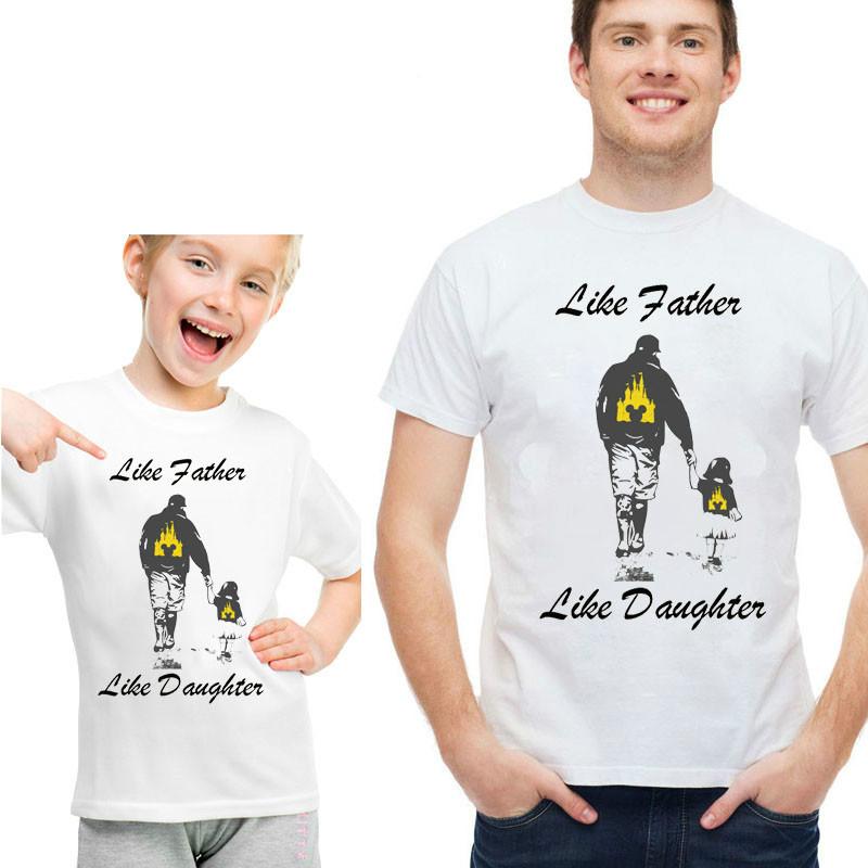 Парные футболки Family Look. Папа и сын/дочь Push IT