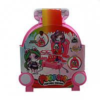 Детский туалетный столик-чемоданчик Пупси Poopsie с аксессуарами