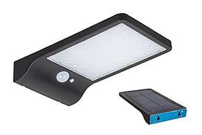 Вуличний світлодіодний прожектор-ліхтар з сонячною панеллю 914T1617 BK LED LV