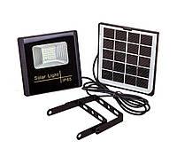 Уличный светодиодный прожектор с солнечной панелью 914JB10 LED LV