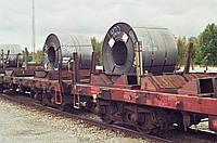 Услуги выгрузки-погрузки металлопроката в ЖД вагоны