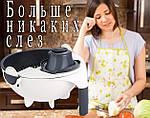 Многофункциональная овощерезка слайсер Adna Slicer резка для овощей и фруктов кухонный комбайн, фото 3