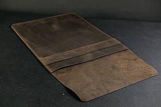 Чехол для MacBook,модель №25, Винтажная кожа, цвет Шоколад, фото 2