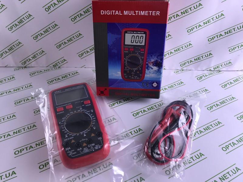Цифровой мультиметр  VC61