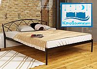 Металлическая кровать Jasmine-1 (Жасмин-1) 80х190см Метакам