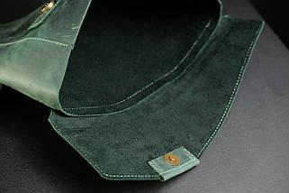 Чохол для MacBook Дизайн №20 Вінтажна шкіра, колір Зелений, фото 3