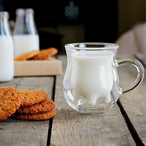 Комплект из 2 молочников с двойным дном 240 мл, EZ-3062